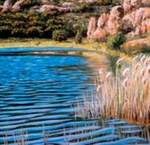 Lagunas de Ruidera, agua en movimiento